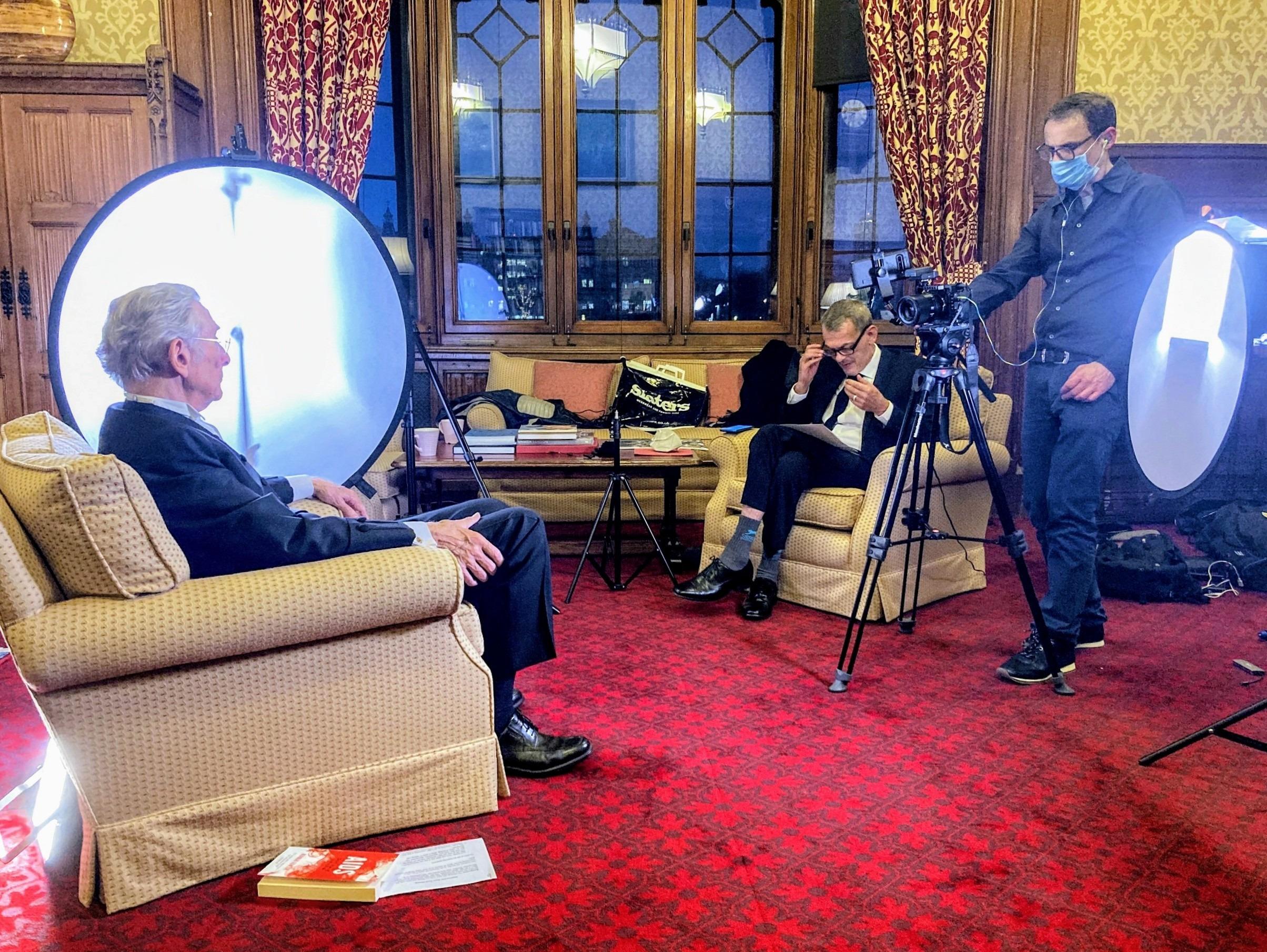 BBC News: NHST interviews Lord Fowler, former Health Secretary
