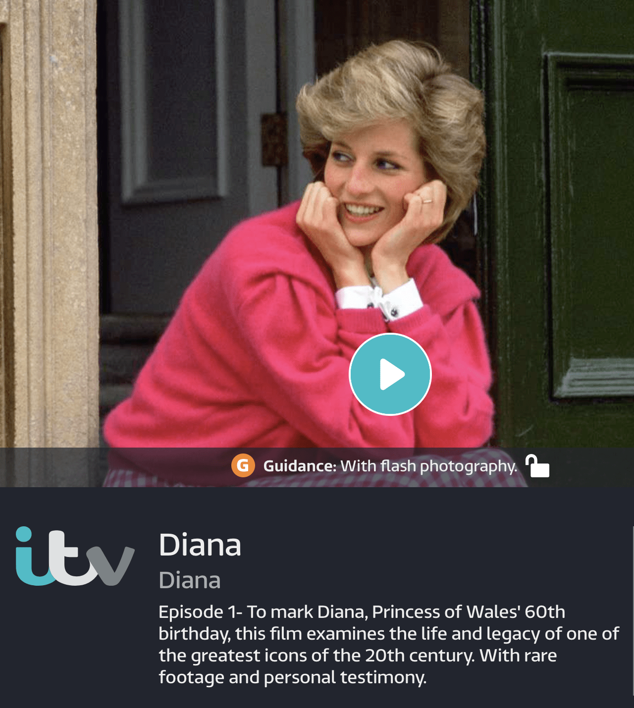 NHST contributes to ITV doc 'Diana'